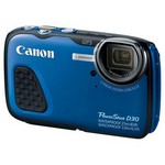 "Canon PowerShot D30 12.1 Mp 5x Optik 3.0"" Lcd Full Hd Gps Dijital Kompakt"