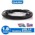 Dark Dk-cb-usb3extl180 Usb 3.0 Uyumlu 1,8 Metre Uzatma Kablosu