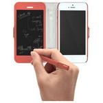 Tegware Bagel iPhone 5s note pad lı kılıf - Kırmızı