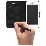 Tegware Bagel iPhone 5s note pad lı kılıf - Siyah