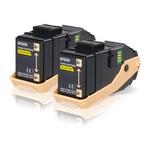 Epson S050606 Sarı Toner - İkili Paket (C13S050606)