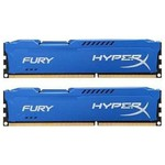 Kingston HyperX Fury Blue 2x8GB CL10 DDR3 Bellek (HX316C10FK2-16)
