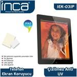 """Inca Iek-03ıp 9,7"""" Ipad/2/3 Uyumlu Şeffaf Ekran Koruyucu"""