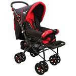 Mcrae Mc 750 Comfort Çift Yönlü Lux Bebek Arabası - Kırmızı