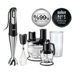 Braun Multiquick 7 MQ 785 Patisserie Plus El Blender Seti