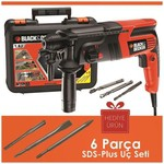 Black & Decker Kd860ka 600watt 1.6j Sds-plus Kırıcı/delici