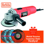 Black & Decker CD115 Avuç taşlama, 700W