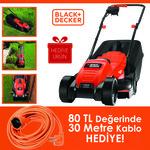 Black & Decker Emax32s 1200watt 32cm Elektrikli Çim Biçme Makinası