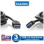 Dark DK-CB-USB3EXTL300 3m USB 3.0 Uzatma Kablosu