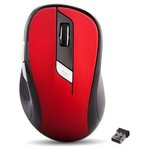 Everest SM-245D Kırmızı Kablosuz Mouse