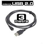 Dark Micro USB 2.0 - USB 5 pin 3m Şarj ve Data Kablosu (DK-CB-USB2MICROL30)