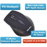Flaxes FLX-919wl Kablosuz Mouse - Siyah