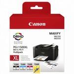 Canon PGI-1500XL C-M-Y-BK Renkli