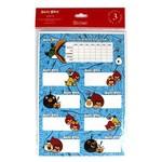 Keskin Color Angry Birds Ders Programı 3`lü Etiket