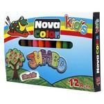 Nova Color Nc-2124 Jumbo Pastel Boya 12 Renk