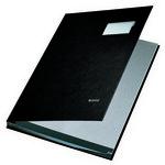 Leitz Plastik Kapaklı İmza Dosyası 10 Sayfa (L5701) Siyah
