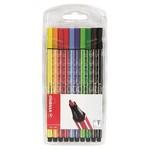 Stabilo Pen 68 - 10 Renk Şeffaf Paket