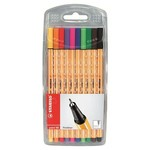 Stabilo Point 88 10 Renk Şeffaf Paket