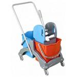 Uctem-Plas Temizlik Arabası Çift Kovalı