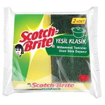 Scotch-Brite Bulaşık Süngeri Yeşil Klasik 2 Adet