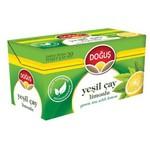 Doğuş Bardak Poşet Yeşil Çay Limon Aromalı 20 Adet