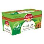 Doğuş Bardak Poşet Yeşil Çay Tarçın Karanfil Aromalı 20 Adet