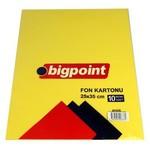 Bigpoint Fon Kartonu 25 X 35 Karışık 10'lu