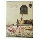 Vintage Label 1352 A4 Sert Kapak Ciltli Defter Love