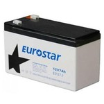Eurostar 12v 7 Ah Tam Bakımsız Kuru Tip Akü