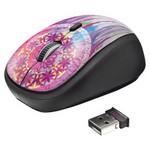Trust 20252 Yvi Kablosuz Mini Mouse Dream Catcher - Desenli