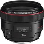Canon EF 50mm f-1.2L USM SLR Siyah