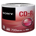 Sony 50CDQ-80SB 700MB 52X 50'li CD-R