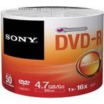 Sony 16x DVD-R 4.7GB 50 Adet Yazılabilir DVD (50DMR47SB)