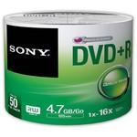 Sony Dvd+r 4.7gb 16x 50li Shrınk - 50dpr47sb