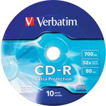 Verbatim 43725 Cd-r 10 Wrap Extra Protection 52x 700mb