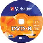 Verbatim 16x DVD-R 4.7GB 10 Adet Yazılabilir DVD (43729)
