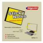 Bigpoint Yapışkanlı Not Kağıdı 75 X 75 Mm 100 Yaprak