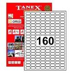 Tanex Yazıcı Etiketi 22x12 Mm 16.000 Adet Model Tw-2280