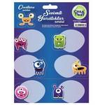 Crea Tiket Creatiket 1003 Sevimli Yaratıklar Serisi Okul Etiketi