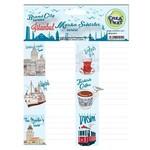 Crea Tiket Creatiket 1012 Marka Ve Şehirler Serisi Okul Etiketi