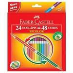 Faber Castell Bicolor Boya Kalemi 48 Renk