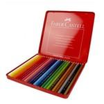 Faber Castell Metal Kutu Boya Kalemi 24 Renk