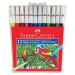 "Faber Castell Keçeli Kalem 12""li Poşet"