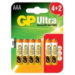 GP Aaa Ince Kalem Pil Ultra Alkalin (4+2) 6 Adet Model Gp24au4 2 2p6