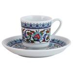 Güral Porselen Topkapı Serisi Kahve Fincan Takımı 6'lı