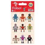 Crea Tiket Creatiket 1037 Robot Sticker