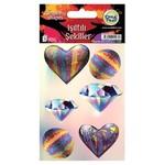 Crea Tiket CreaTiket 1075 Işıltılı Şekiller Sticker