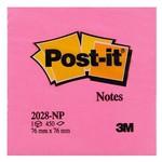 Post-It 3m Not Kağıdı 76x76 Mm Gökkuşağı Pembe Ton 450 Yaprak (2028np)