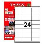 Tanex Yazıcı Etiketi 70x35 Mm 2400 Adet Model Tw-2324