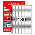Tanex Yazıcı Etiketi 30x9 mm 18.000 Adet Model TW-2060